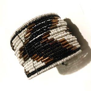 Chevron Beaded Bracelet